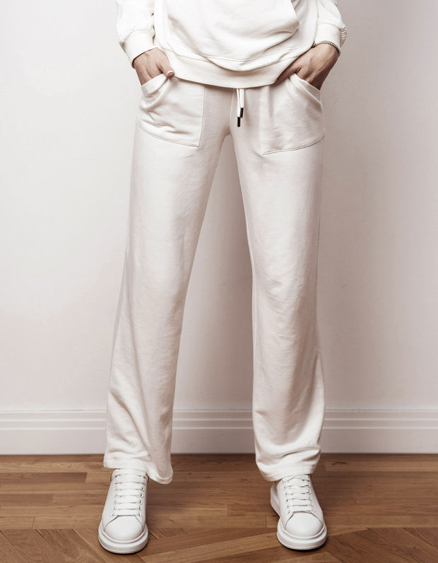 BOW06 CASUAL SWEATPANTS WEISS