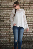 Patricia Lace Long Sleeve Top