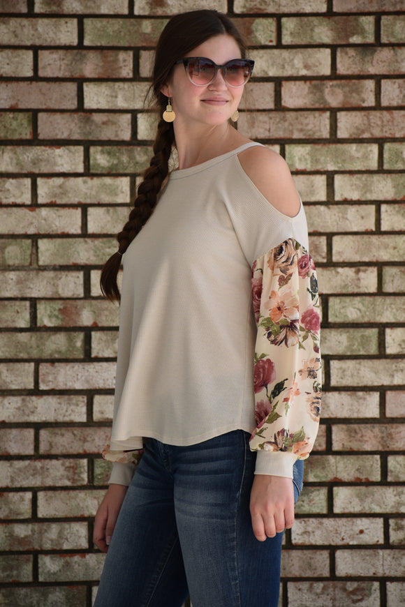 Fall For You Floral Top