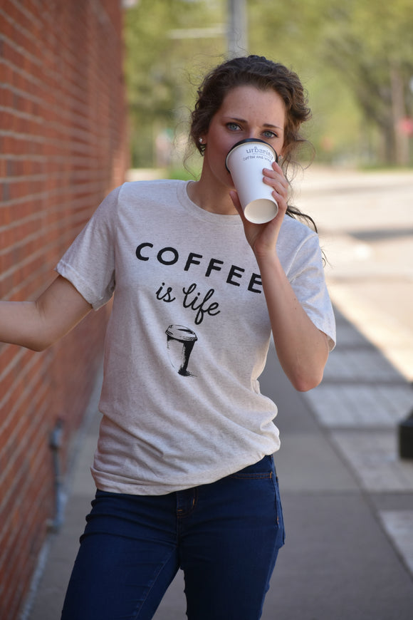 Coffee is Life Graphic Tee - urbanity online
