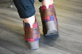 Accolade Plaid Bootie
