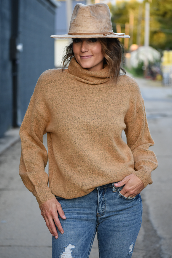 Agency Turtleneck Sweater