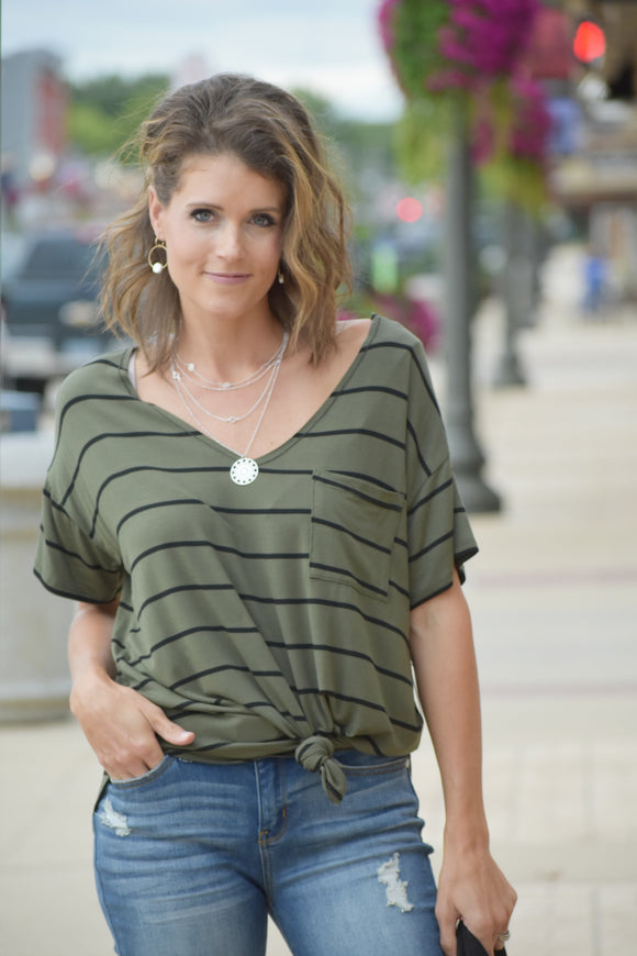 Ankeny Striped Top