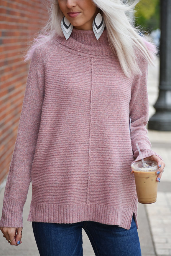 Autumn Fest Ribbed Sweater