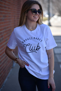 Badass Babes Club Graphic Tee