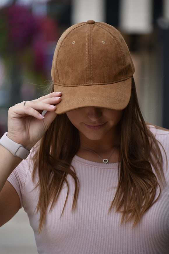 Micro Suede Adjustable Hat