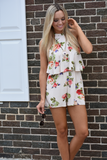 Belle Fontaine Floral Romper