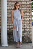 Beverly Hills Striped Jumpsuit
