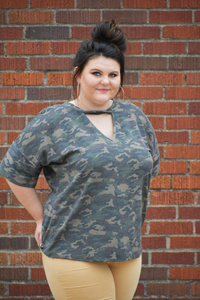 Bugle Bailey Camo Top