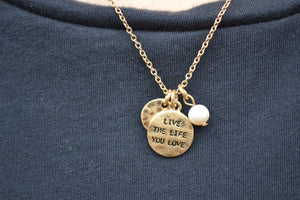 """Live the Life"" Necklace/Earring Set - urbanity online"
