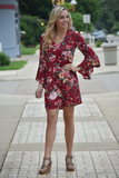 Gina Floral Shift Dress