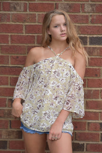 Go-To Open Shoulder Top