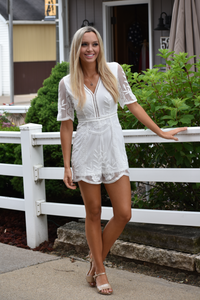 Going to the Chapel Bachelorette Romper