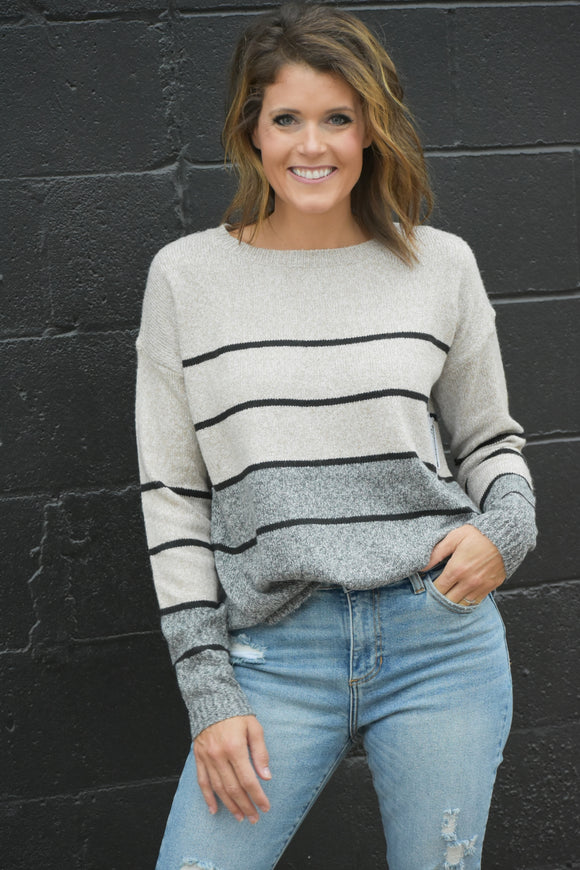 High Roads Striped Sweater