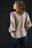 In The Stars Striped Pullover Sweater