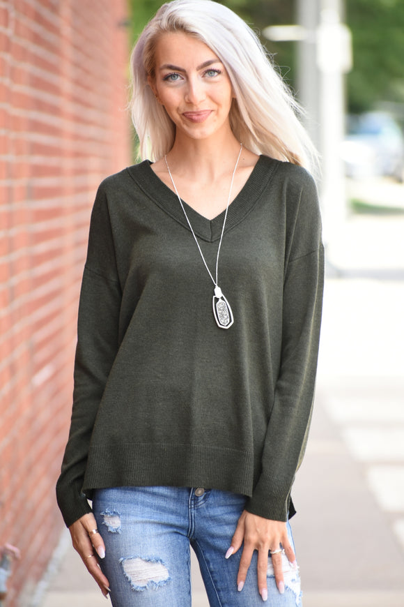 Jada V-Neck Sweater