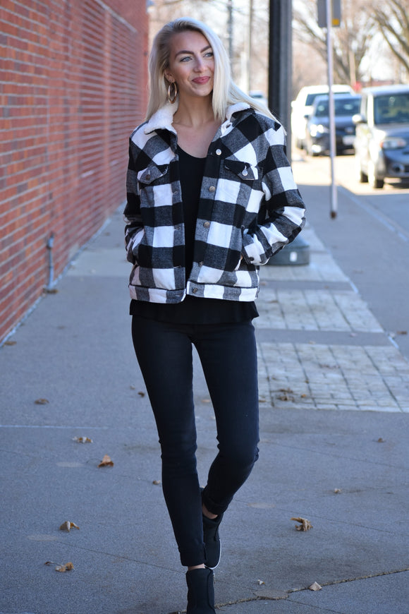 Janet Buffalo Plaid Jacket