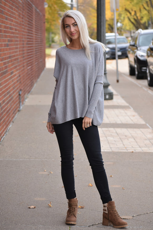 Kari Dolman Sleeve Sweater