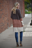 Krystina Sweet Color Blocked Cardigan