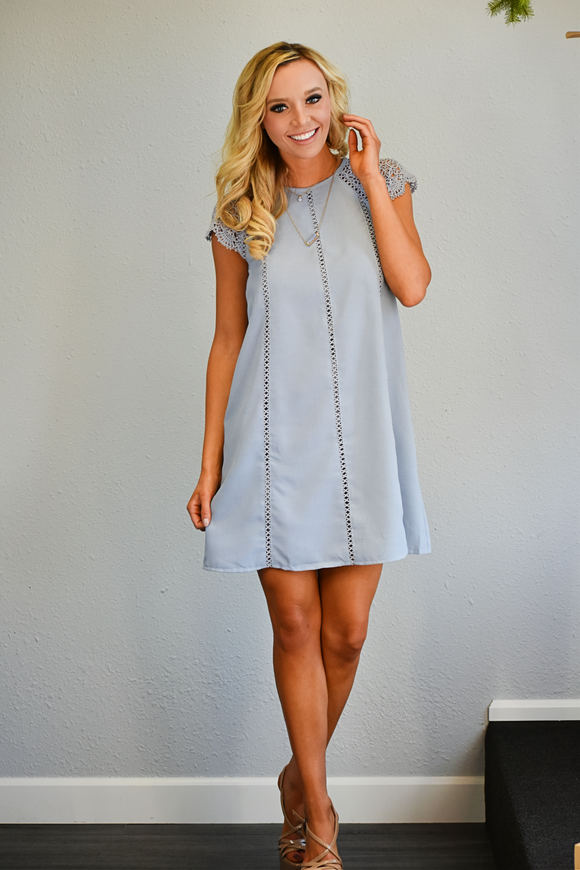 Lacey Grace Cap Sleeve Dress