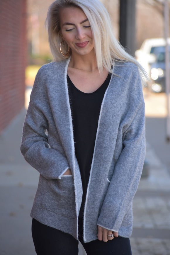 Lightweight Oversized Cardigan Sweater
