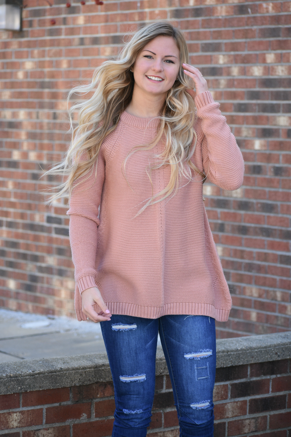 Long Island Cold Shoulder Sweater