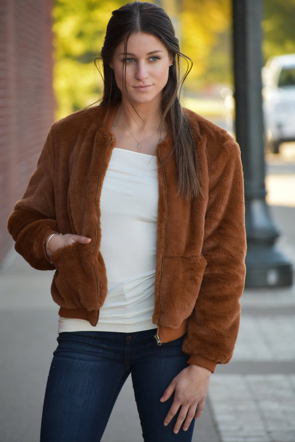 Marley Faux Fur Jacket