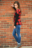 Orion Plaid Top