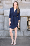 Prim and Proper Shirt Dress