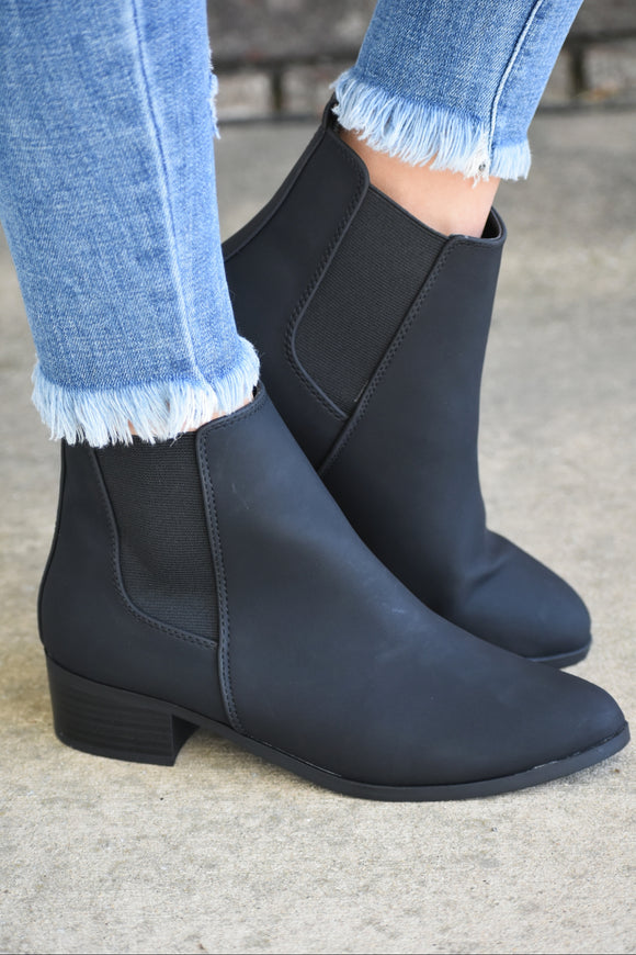 Repeat Short Stretch Ankle Bootie