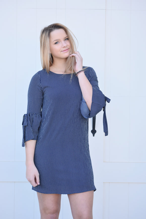 Roxanna Striped Dress