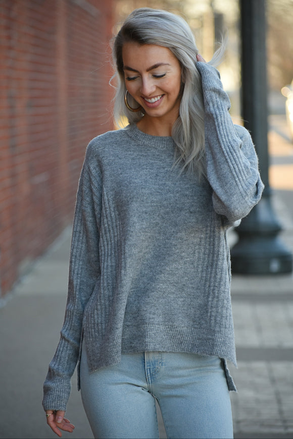 Sami Ribbed Knit Sweater