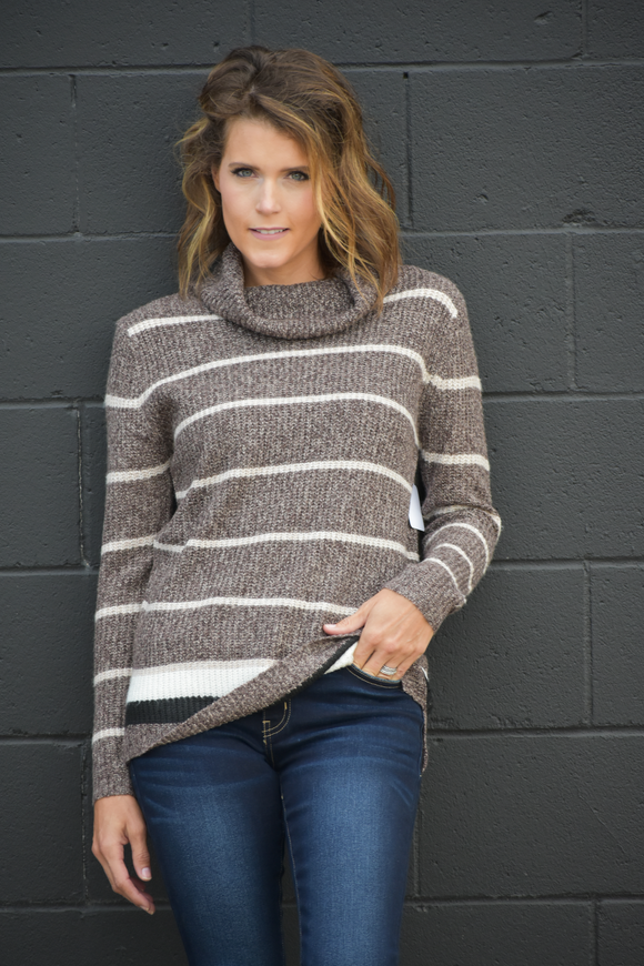 Shania Striped Sweater