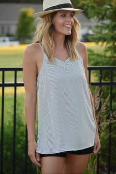 Starry Eyes Striped Cami Top