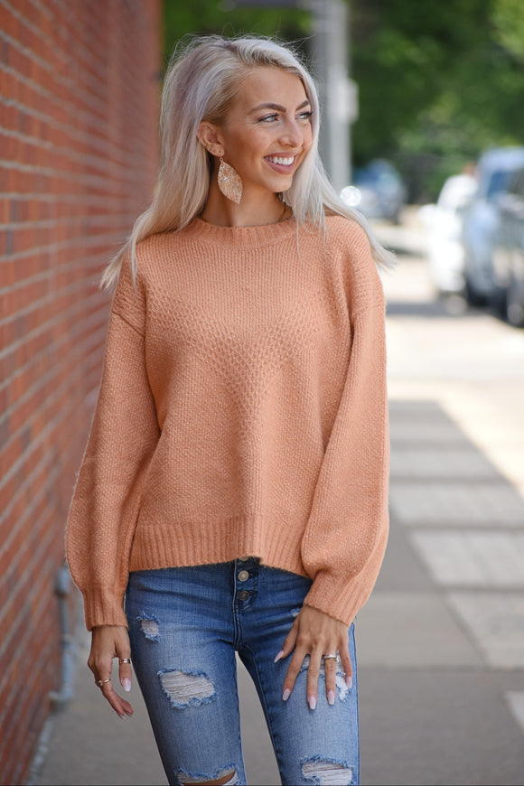 Tangerine Sunrise Sweater