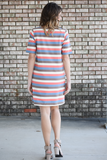 The Weekender Striped Tee Dress
