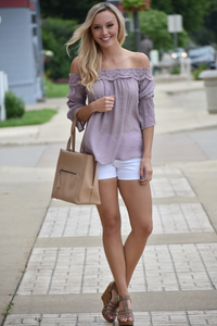Tuscon Off-the-Shoulder Top