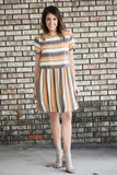 Xtina Multi Striped Dress