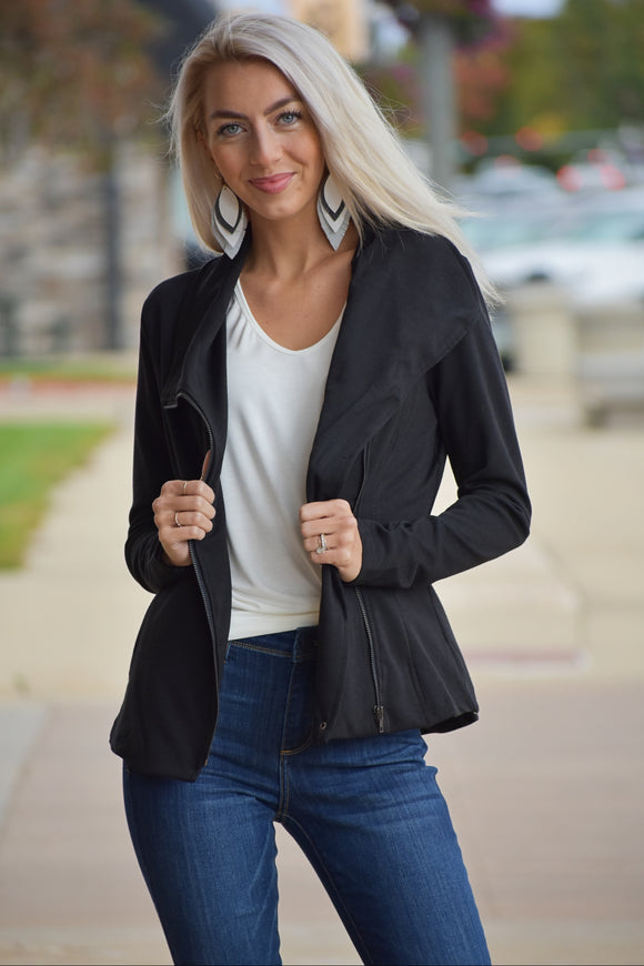 Zada Zippered Jacket