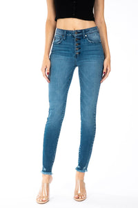 Zane Skinny Button Fly Jeans