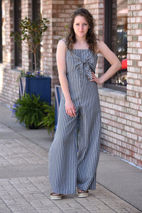Shawna Striped Jumpsuit