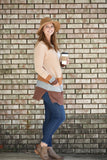 Ackley Color Block Cardigan