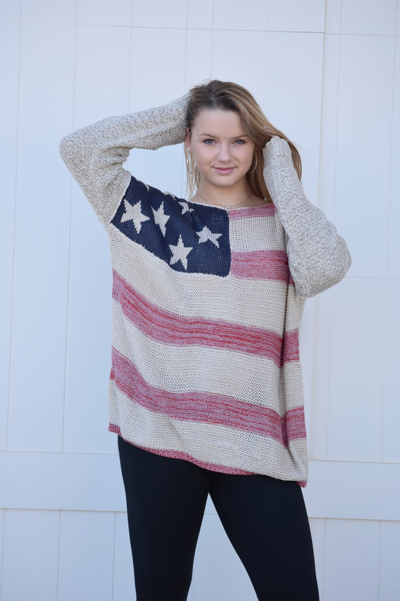 Betsy Ross Sweater