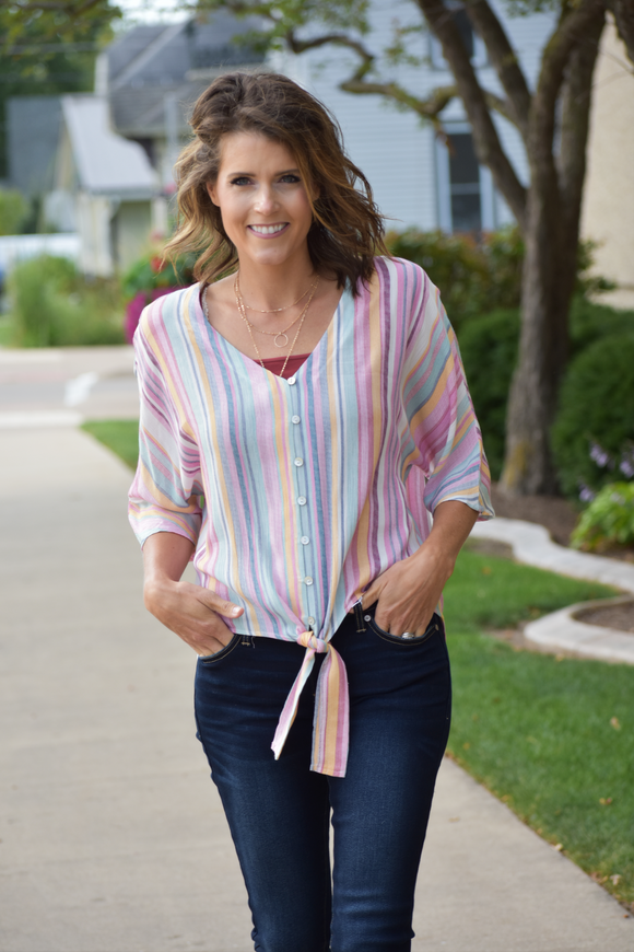 Carnival Candy Stripe Top