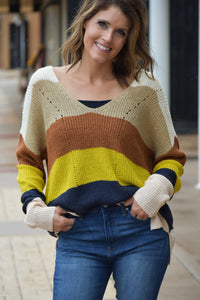 Colors Of Fall Sweater