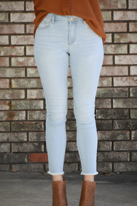 Desi Light Washed Skinny Jeans