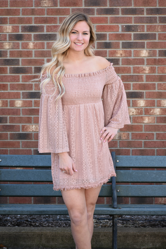 Sweetness Off Shoulder Dress
