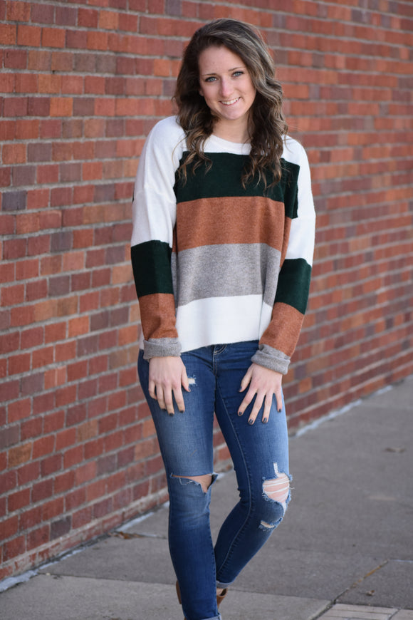 Fashion Envy Striped Sweater