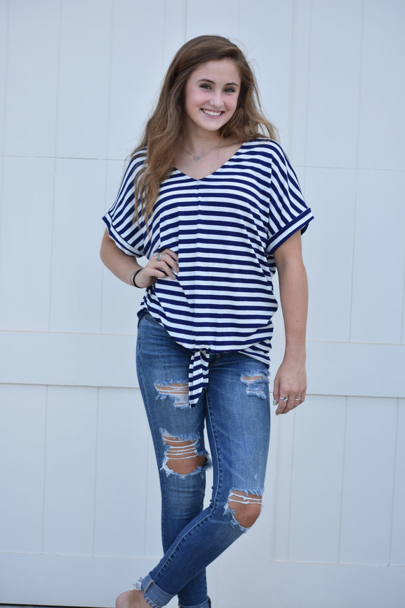 Justine Striped Top
