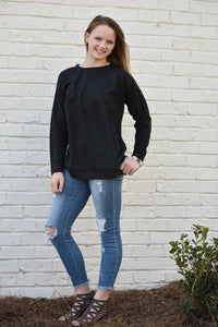 Laces Sweater Top